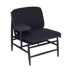 ercol Von Work Chair Right Arm Charcoal