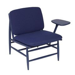ercol Von Work Chair Left Arm Indigo Blue