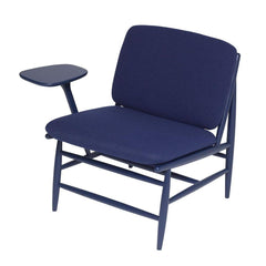 ercol Von Work Chair Right Arm Indigo Blue