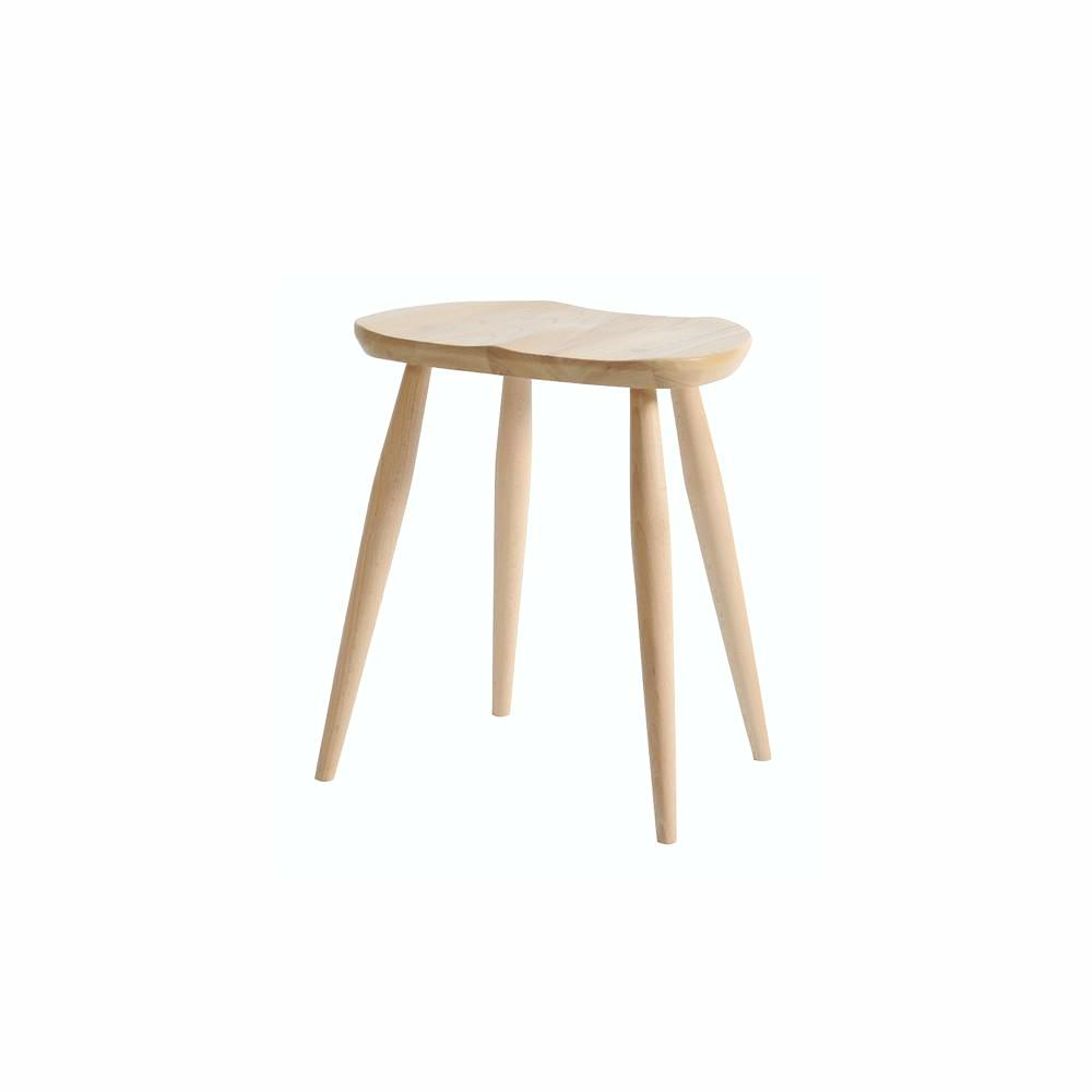 Ercol Originals Windsor Saddle Stool Elm and Beech