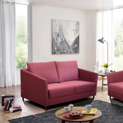 Erika Loveseat Sleeper in Luna 24 Fabric by Luonto