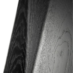 Ethnicraft Black Oak Facette Dining Chair Detail