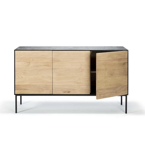 Ethnicraft Oak Blackbird Sideboard 3-Door