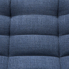 Ethnicraft N701 Sofa Blue Bermuda Seat Detail