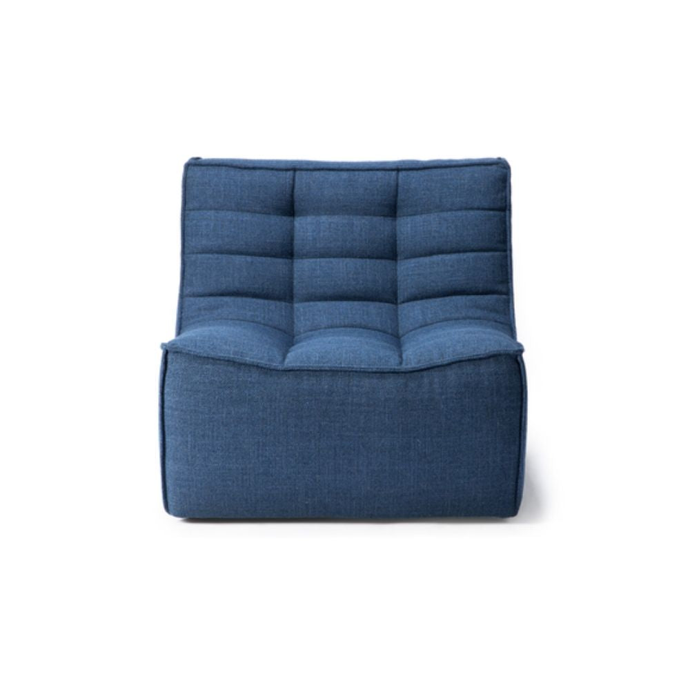 Ethnicraft N701 Sofa Chair Blue