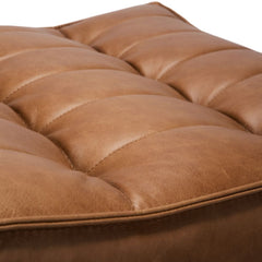 Ethnicraft N701 Sofa Old Saddle Leather Detail