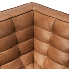 Ethnicraft N701 Sofa Corner Leather Detail