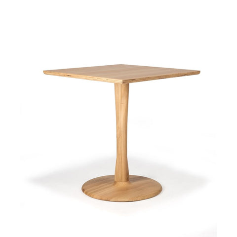 Ethnicraft Square Oak Torsion Dining Table
