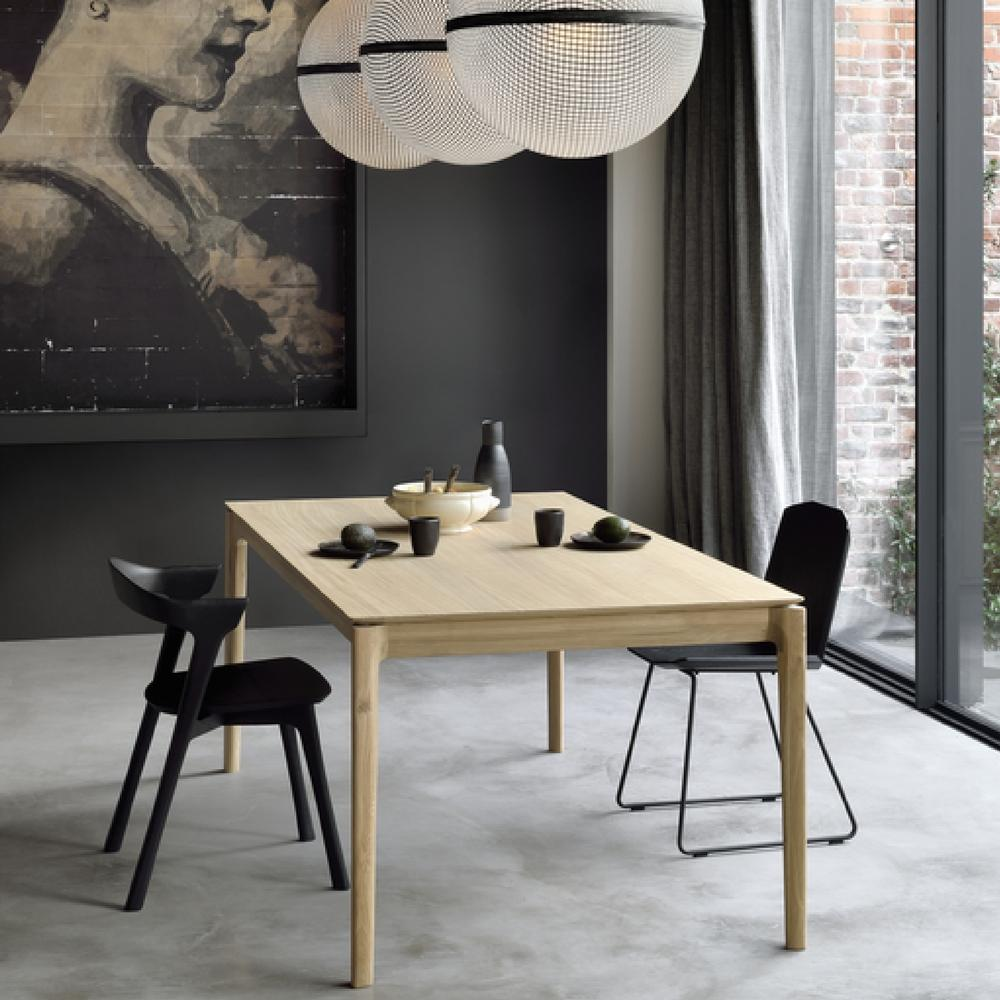 dining room extendable tables. Ethnicraft Oak Bok Dining Table Extendable In Room Tables