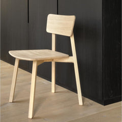 Ethnicraft Oak Casale Chair in Kitchen
