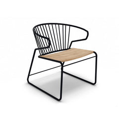 Ethnicraft Oak Gabbia Chair Black and Oak