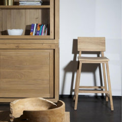 Ethnicraft N3 Counter Stool Styled