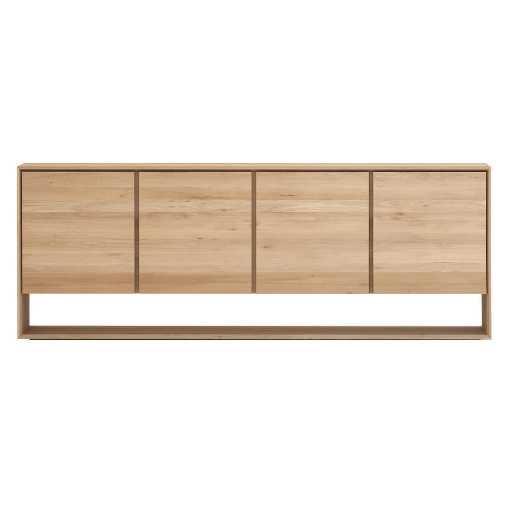 Ethnicraft Oak Nordic Sideboard 4 Doors