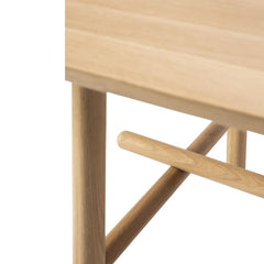 Ethnicraft Oak Profile Dining Table Base Detail