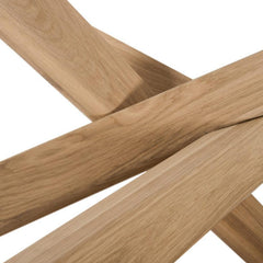 Ethnicraft Mikado Dining Table Base Detail