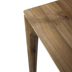 Ethnicraft Teak Bok Dining Table Top Detail