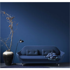Favn Sofa Navy Blue in Room by Jaime Hayon for Fritz Hansen