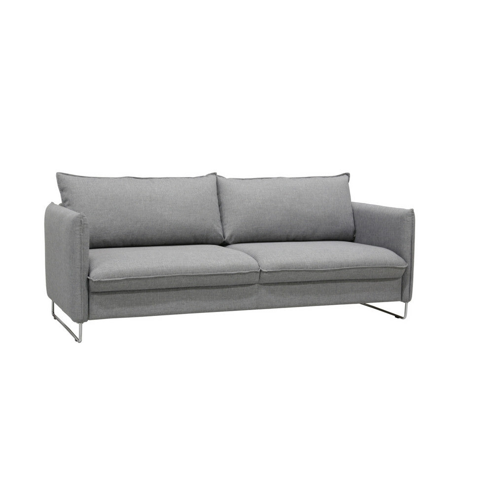 Flipper Sleeper Sofa with Loule 413 fabric by Luonto