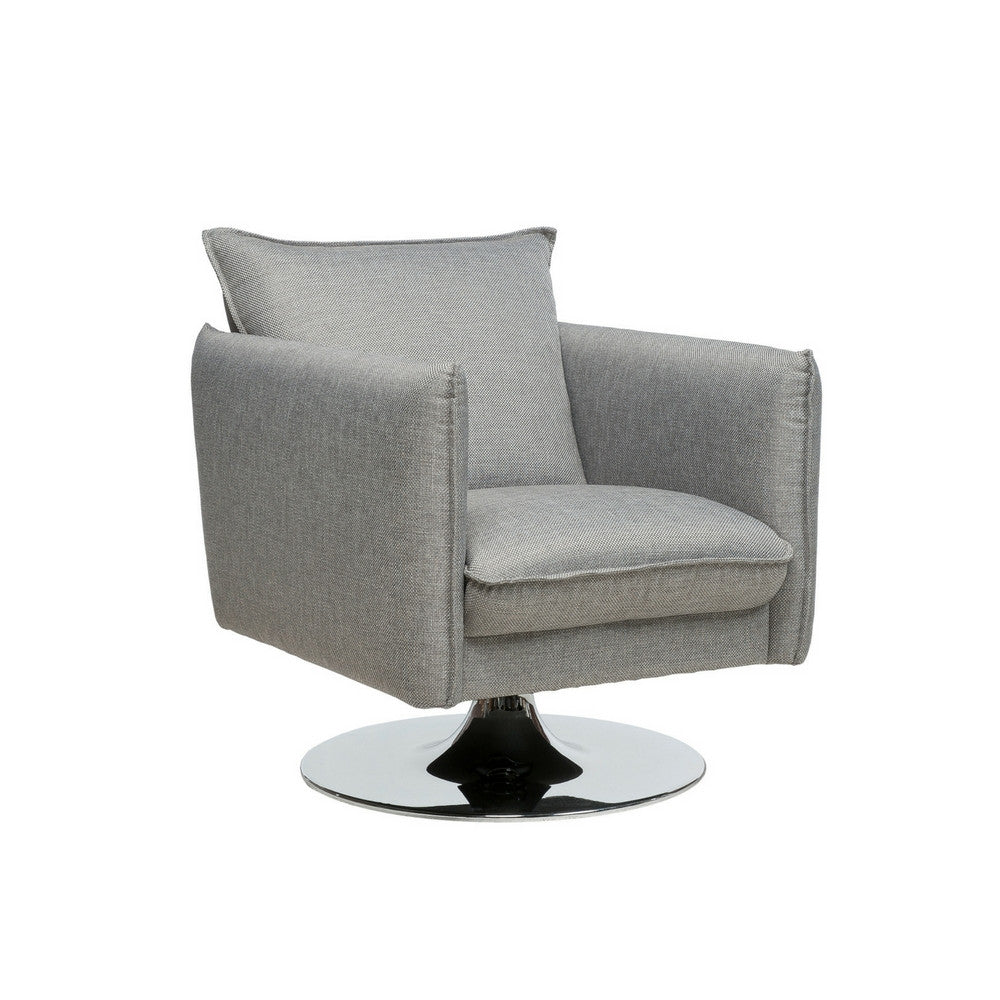 Flipper Swivel Lounge Chair with Loule 413 fabric from Luonto