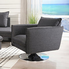 Flipper Swivel Lounge Chair by Luonto