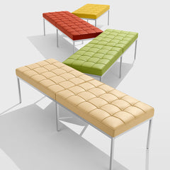 Florence Knoll Benches Bright Colors