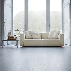 Barber Osgerby Compact Sofa in Chateau with Florence Knoll Coffee Table
