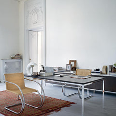 Florence Knoll Dining Table as Executive Office Desk