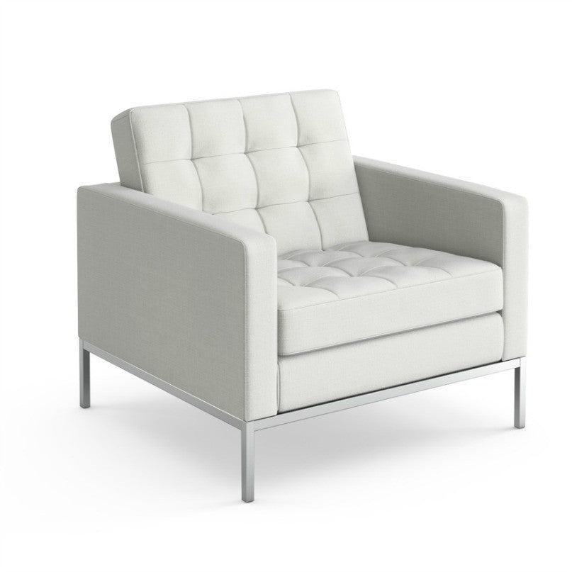 Wonderful Florence Knoll Lounge Chair White