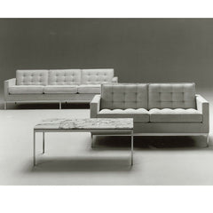 Florence Knoll Coffee Table and Sofas from the Knoll Archives