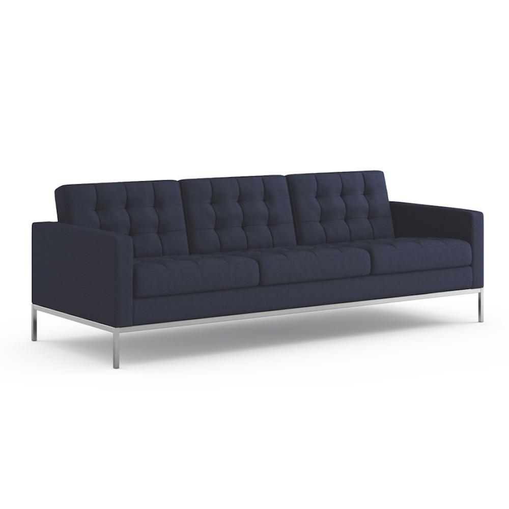 Florence Knoll Relaxed Sofa in Summit Vista