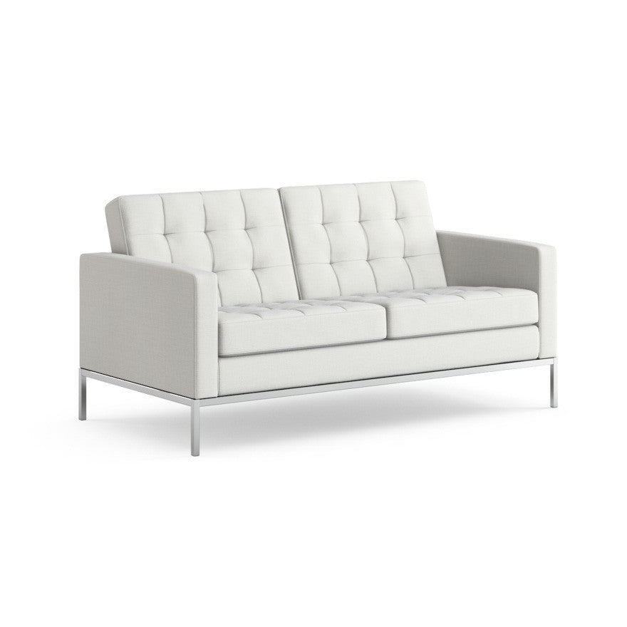florence knoll sofa dimensions. florence knoll settee white sofa dimensions l