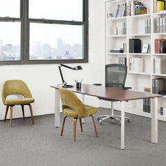 Life Chair by Formway Design for Knoll with Saarinen Executive Chairs in Office