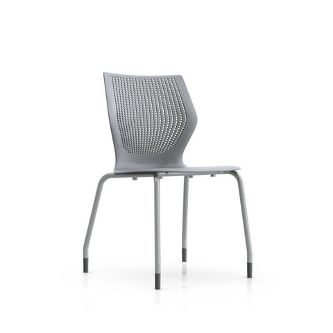 MultiGeneration Armless Chair with Stacking Base by Knoll