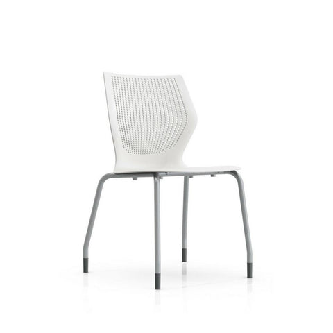 Knoll MultiGeneration Armless Chair with Stacking Base