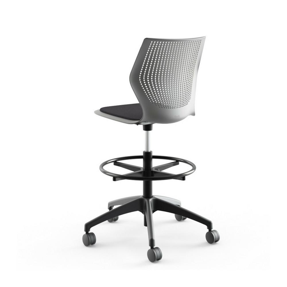 multigeneration high task chair armless with seat pad knoll