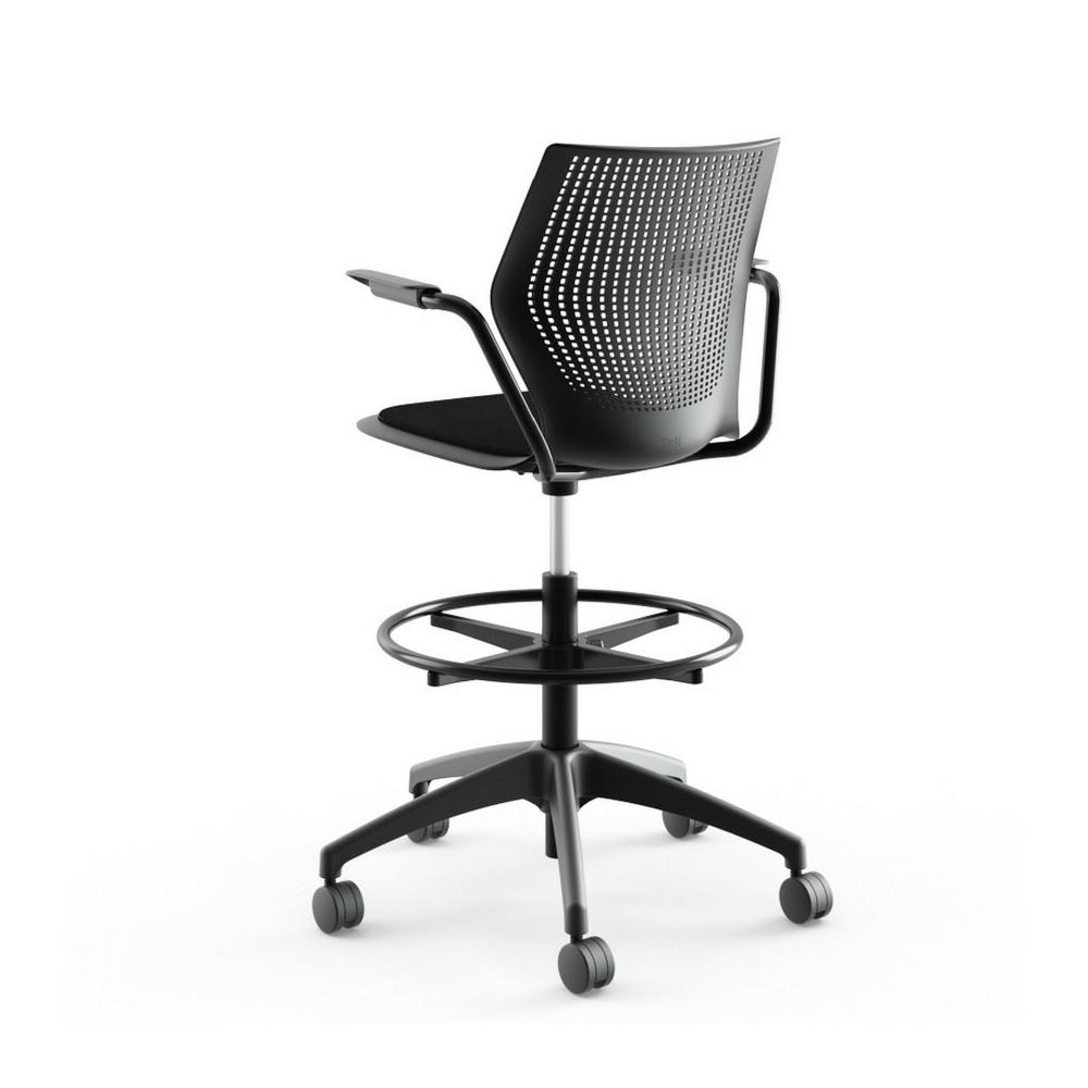 Multigeneration High Task Chair With Arms And Seat Pad Knoll Palette Parlor Modern Design