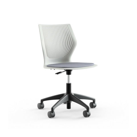 MultiGeneration Light Task Chair - Armless with Seat Pads by Knoll