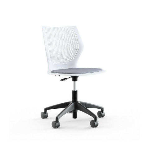 Knoll MultiGeneration Light Task Chair - Armless with Seat Pad