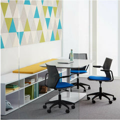 Knoll MultiGeneration Light Task Chair with Arms and Seat Pad