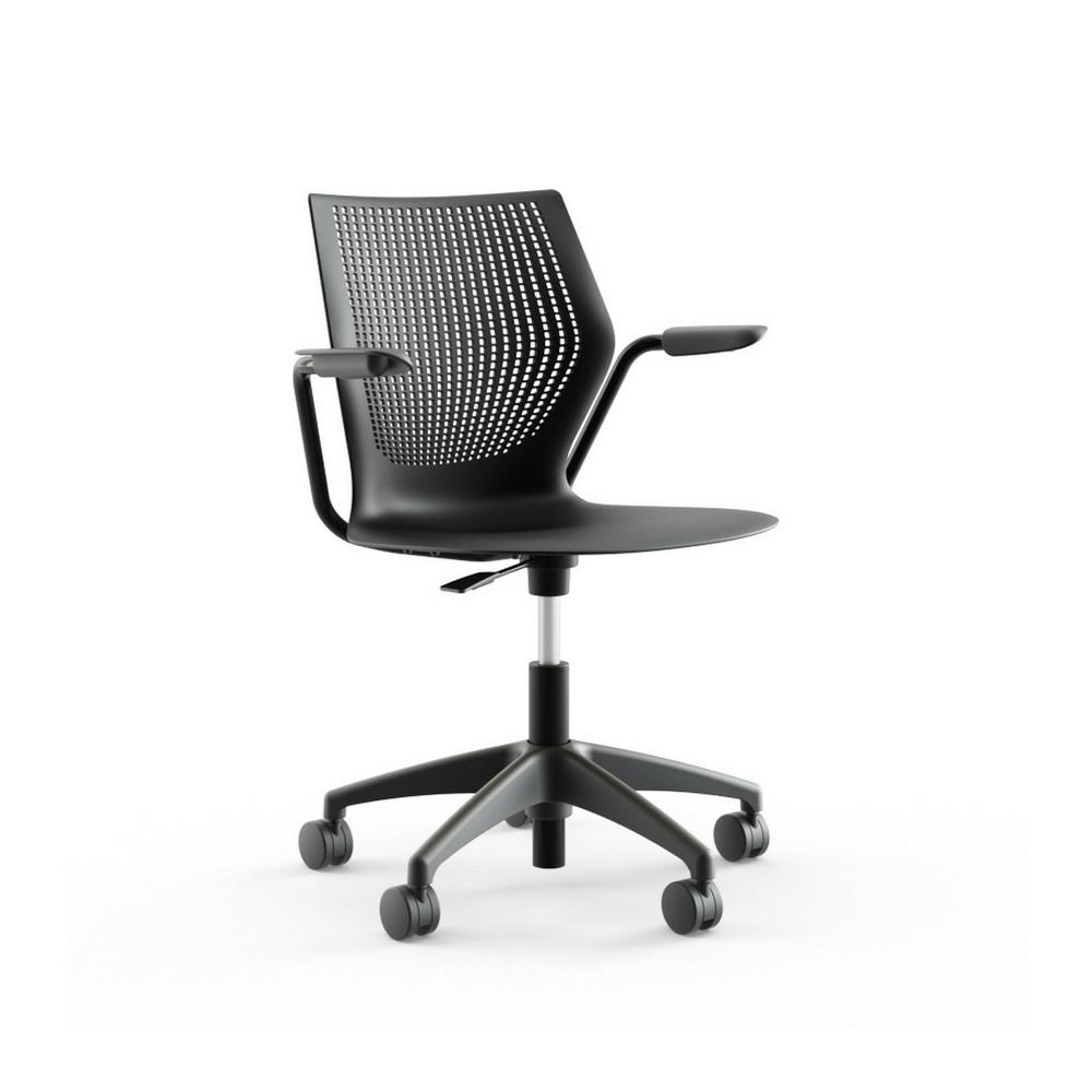 Formway Design Onyx MultiGeneration Light Task Chair with Arms by Knoll