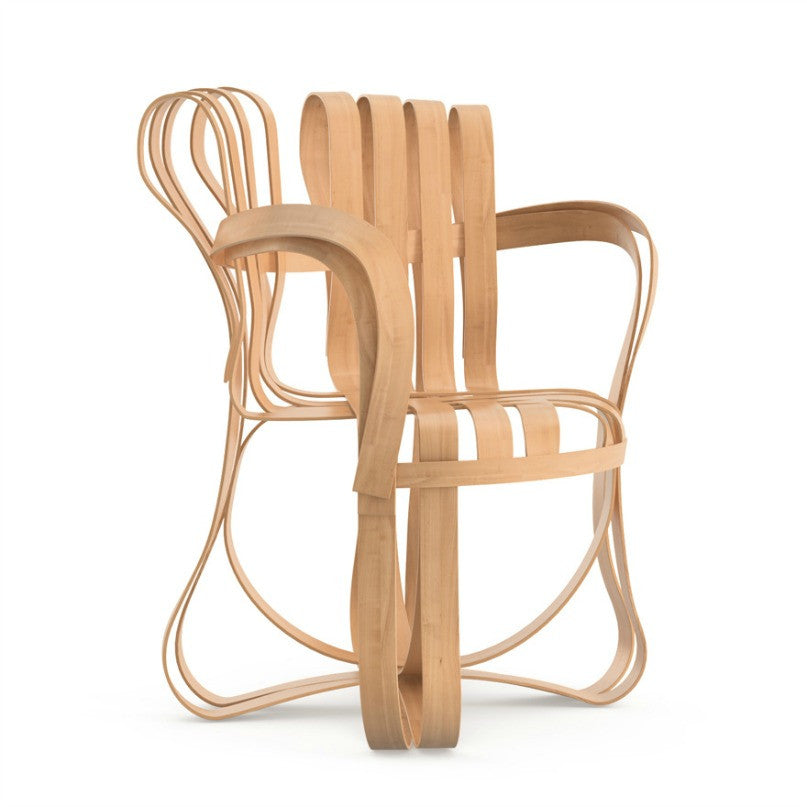 Frank Gehry Cross Check Chair Maple Front Knoll