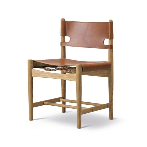 Fredericia Spanish Dining Chair by Børge Mogensen
