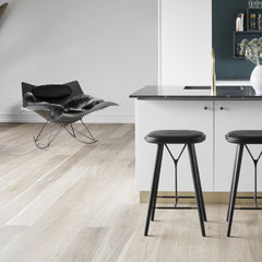 Stingray Rocker by Thomas Pedersen with Spine Stool by Space Copenhagen for Fredericia