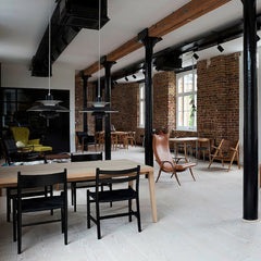 Frits Henningsen Signature Chair in Loft FH429 Carl Hansen and Son