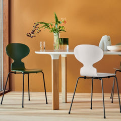Fritz Hansen Analog Table with Ant Chairs in Kitchen