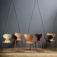 Fritz Hansen Arne Jacobsen Chairs in Room