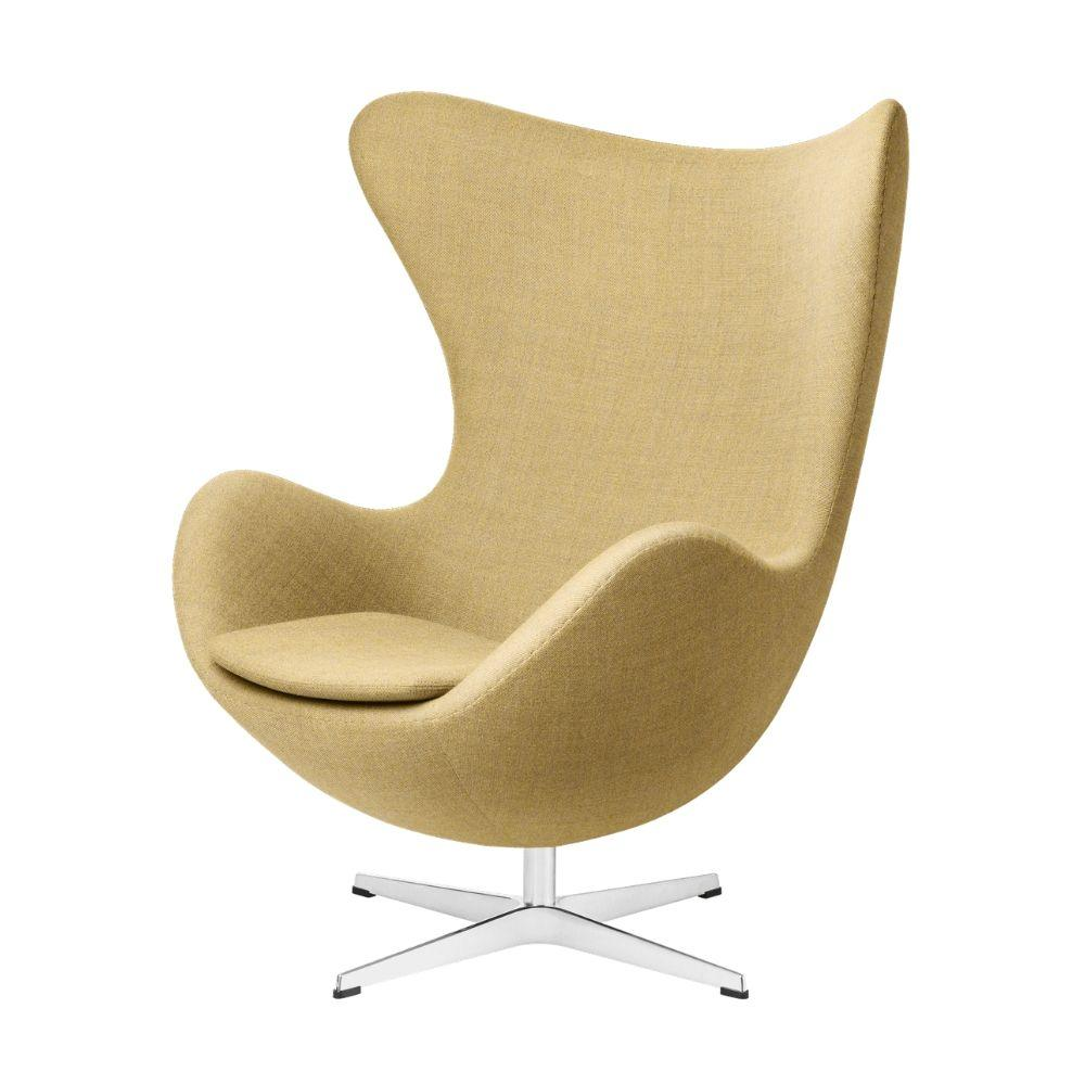 Fritz Hansen Arne Jacobsen Egg Chair in Christianshavn Yellow