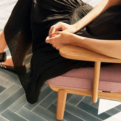 Fritz Hansen Fred Lounge Chair by Jaime Hayon with Woman Detail
