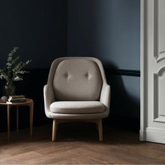 Fritz Hansen Beige Fri Chair by Jaime Hayon in Room