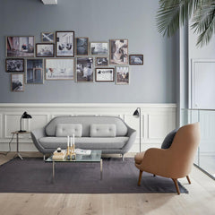 Fritz Hansen Fri Chair in Room with Favn Sofa by Jaime Hayon